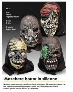 Maschera Horror in silicone