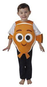 Costume per Bambini Nemo Taglia Toddler (1-2 anni)