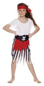 Costume per Bambine Piratessa Taglia S