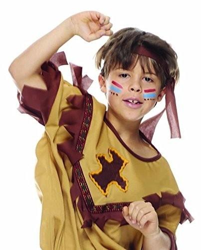 Apache Costume Per Bambino Taglia S