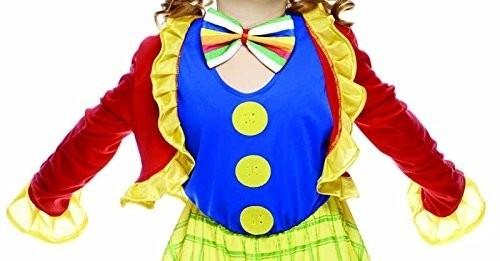 Clown Fiorella Costume Bambina Taglia M