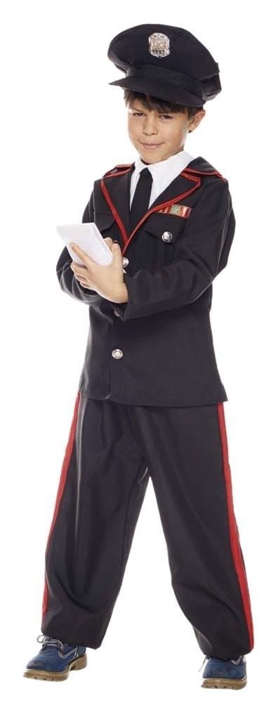 Vestito Carabiniere Bambino.Costume Per Bambini Carabiniere Taglia S Costumi Di Carnevale E Mas