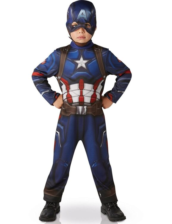 Costume Capitan America Classic 5-6 anni