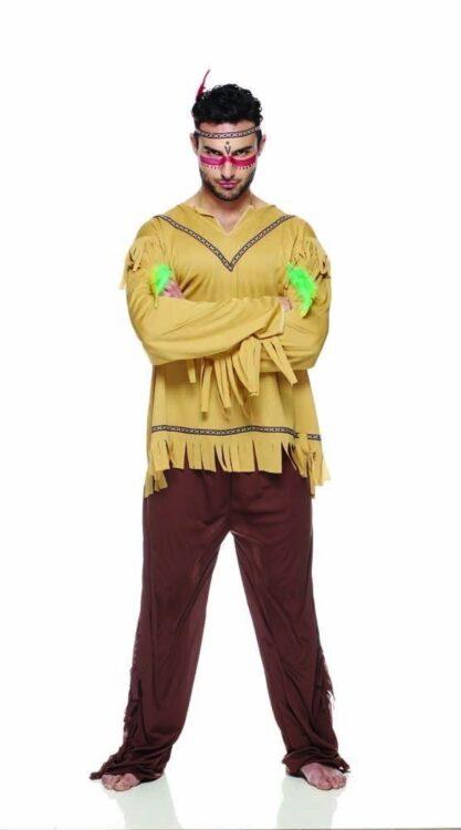 Indiano Costume Adulto Taglia L