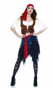 Piratessa Costume Adulto Taglia S