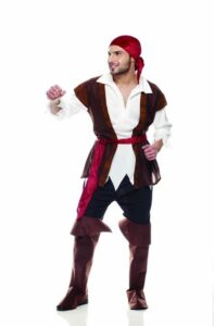 Pirata Costume Adulto Taglia M