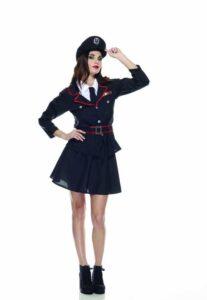 Carabiniera Costume Adulto Taglia M