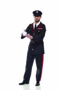 Carabiniere Costume Adulto Taglia M