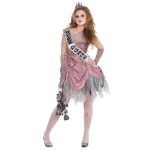 Costume Reginetta Zombie 10/12 anni