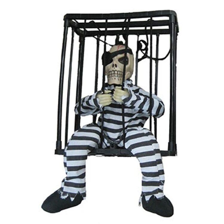 Scheletro in gabbia