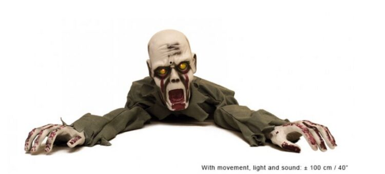 Cadavere camminante Halloween