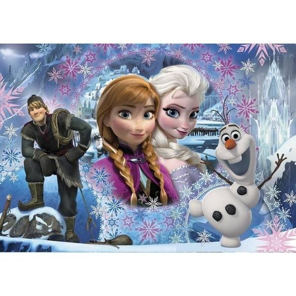 Puzzle Disney Frozen Anna e Elsa Maxi 104pz