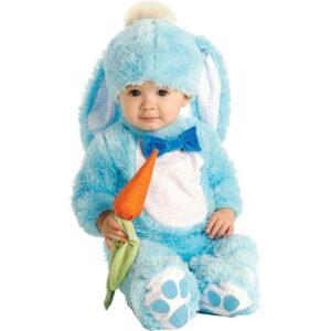 Costume bebè Coniglietto celeste