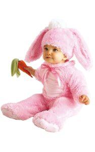 Costume bebè Coniglietta rosa