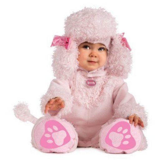 Costume di carnevale bebè Barboncino
