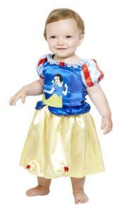 Costume di carnevale Biancaneve bebè