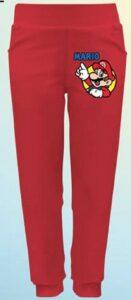 Pantaloni felpati Super Mario