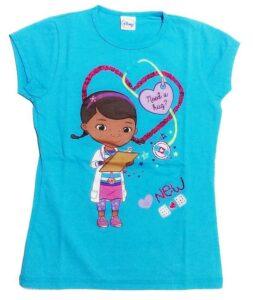 T-Shirt glitter Dottoressa Peluche