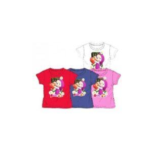 T-shirt Masha e Orso Strawberry