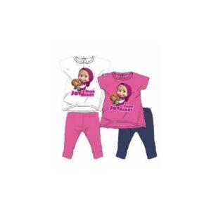 Completo T-shirt e leggings Masha e Orso
