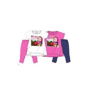 Completo T-shirt e leggings Masha e Orso 'Cherries'