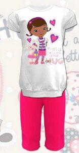 Completo T-Shirt e Leggings Dottoressa Peluche Hugs
