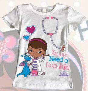 T-Shirt Dottoressa Peluche Lambie