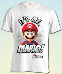 T-shirt mezza manica Super Mario