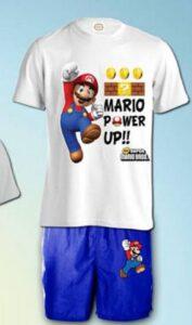 Completo estivo Super Mario Bros