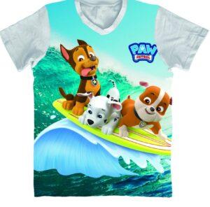 T-shirt Paw Patrol Full Print