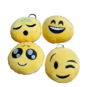 Portachiavi peluche Emoji 9 cm