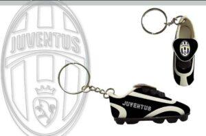 Portachiavi scarpino Juventus