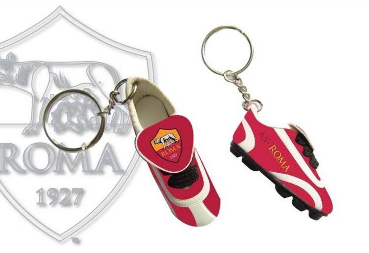 Portachiavi scarpino AS Roma