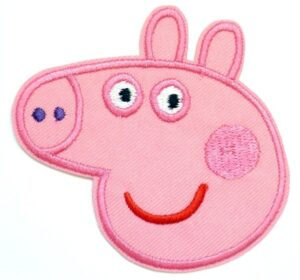 Toppa ricamata Peppa Pig