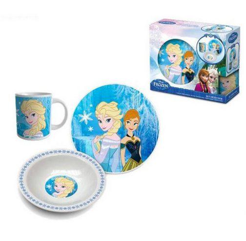 Set tavola in ceramica Disney Frozen 3pz