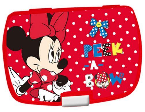 Box portamerenda Minnie Peek a Bow