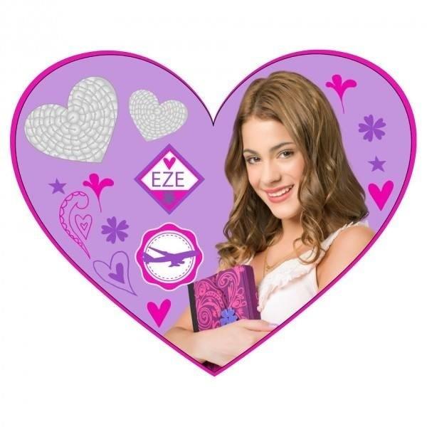 Cuscino cuore Violetta Disney