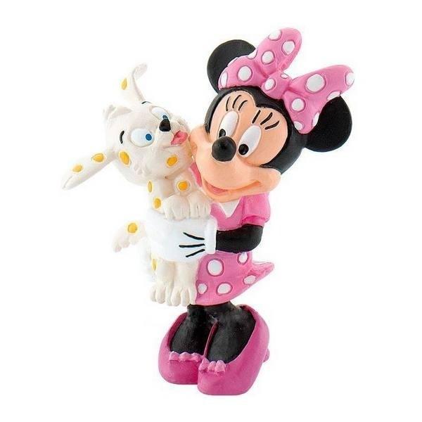 Personaggio Minnie con cagnolino