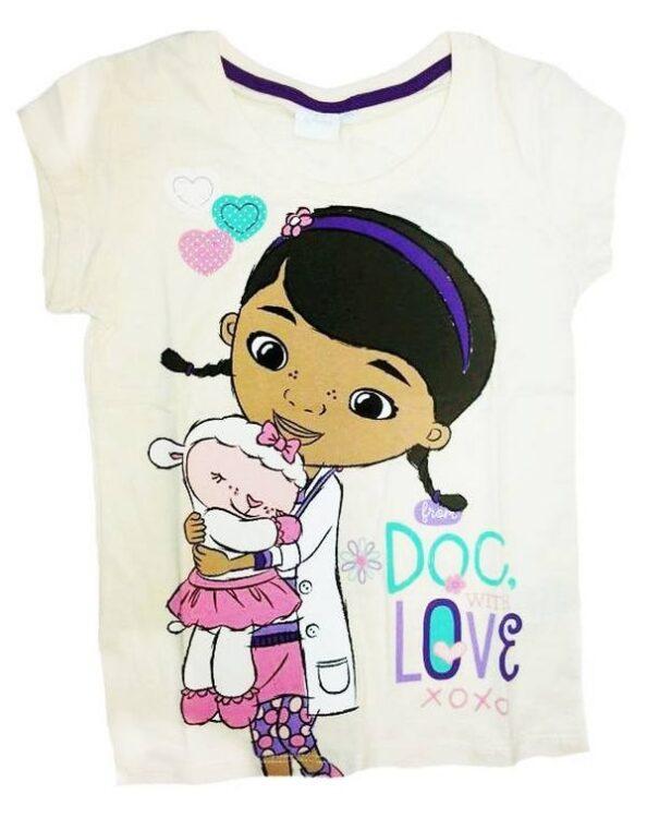 T-Shirt Dottoressa Peluche 'With love'