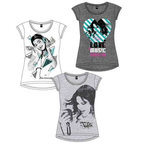 T-Shirt Violetta Disney Music