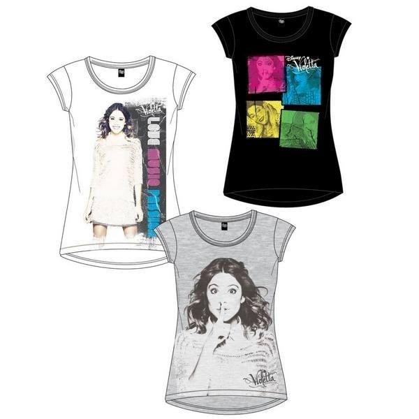T-Shirt Violetta Disney New Design