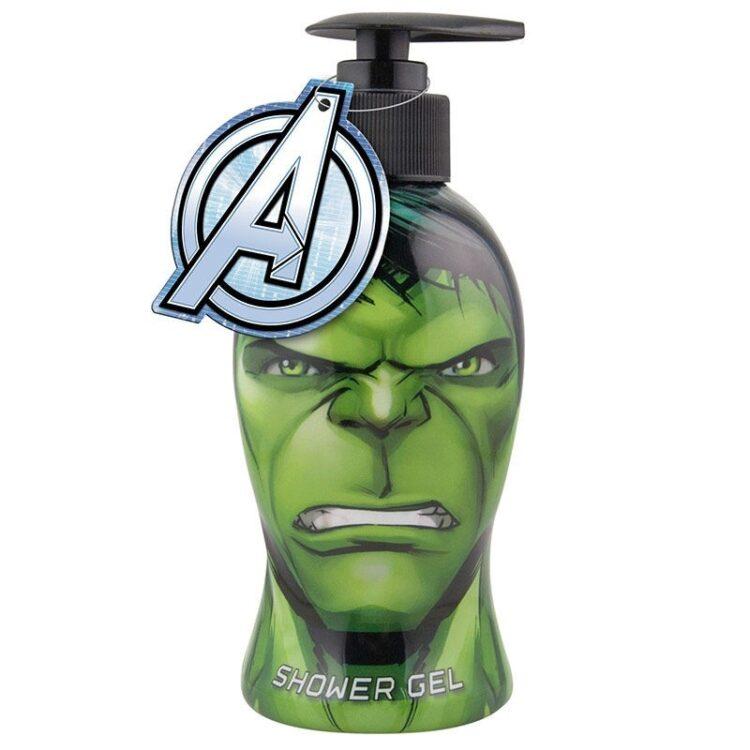 Marvel Avengers Hulk Shower Gel in bottiglia sagomata