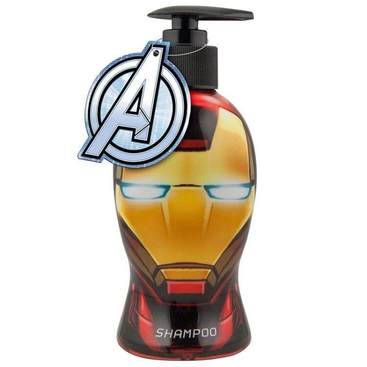Marvel Avengers Iron Man Shampoo in bottiglia sagomata