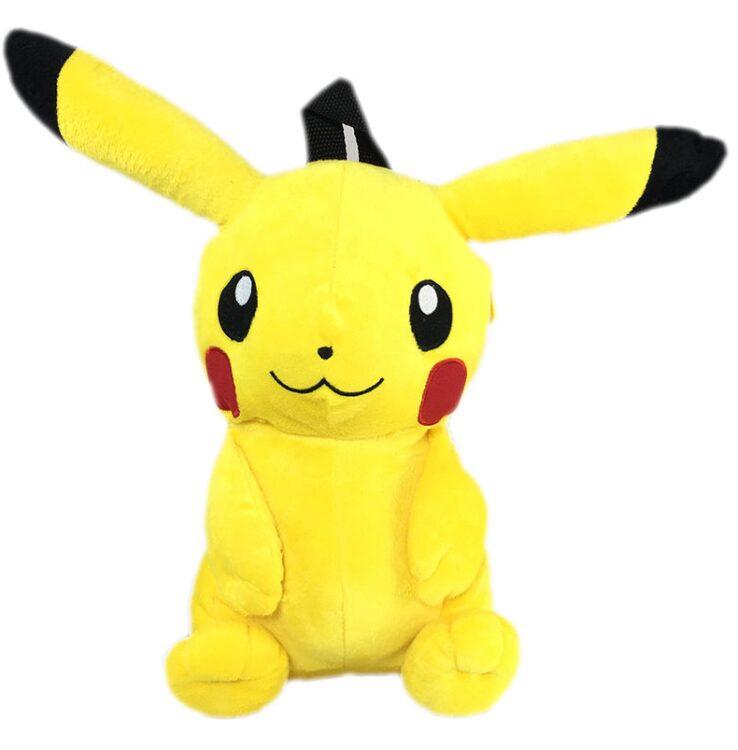 Zaino Peluche Pikachu