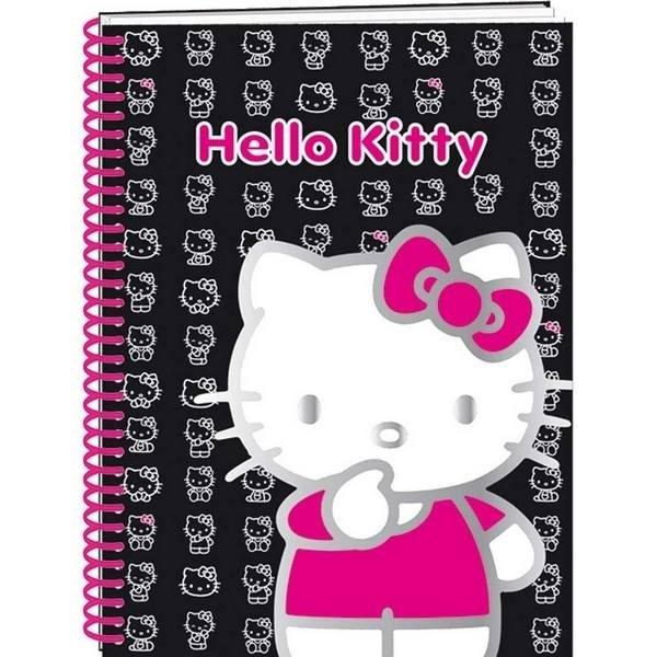 Quadernone con spirale Hello Kitty
