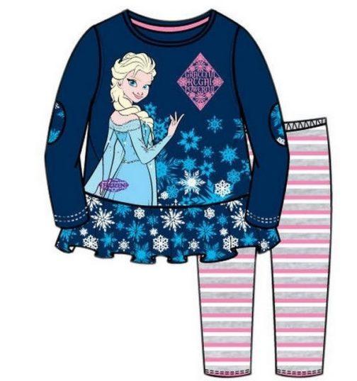 Completo casacca e leggings Elsa Disney Frozen