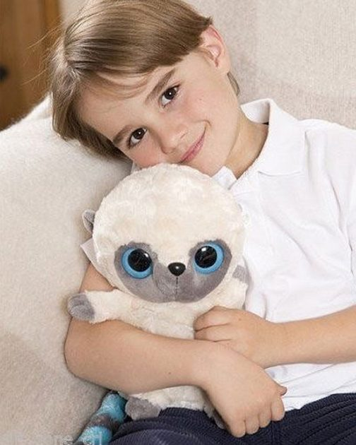 Peluche scaldaletto Blue - Yoohoo and Friends - 25cm