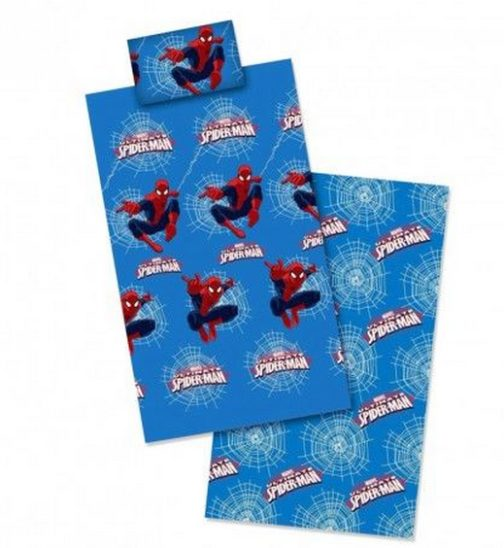 Completo lenzuola letto singolo Spiderman
