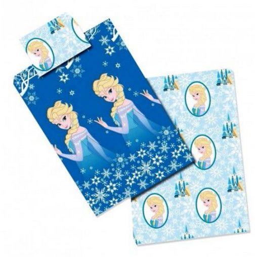 Completo lenzuola letto singolo Disney Frozen Elsa