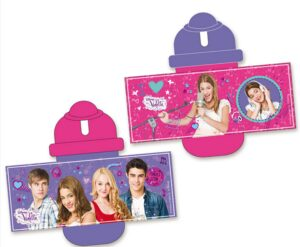 Borraccia con tappo Violetta Disney